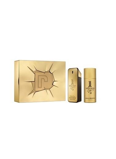 Paco Rabanne 1 Million Edt 100+Deo 150 Ml Erkek Parfüm Set Renksiz